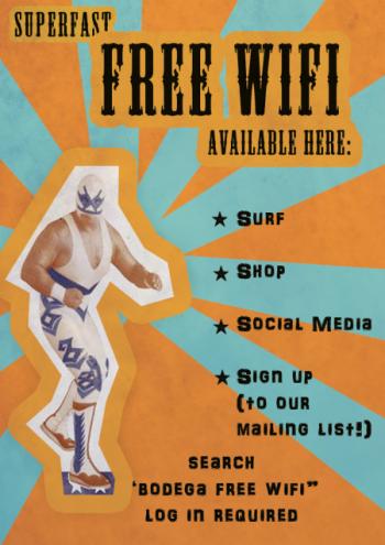 "Free ""rápido"" Wifi @B'ham"